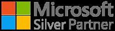 logo microsoft silver partner, partenaire d'Aramis Group
