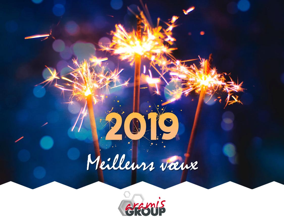 bonne année 2019 et merveilleux voeux - Aramis Group